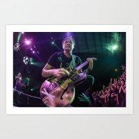 blink 182 Art Prints featuring Blink 182 | Mark Hoppus Photo by #KROLICKPHOTO