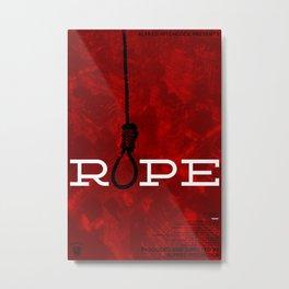 Hitchcock: Rope Metal Print