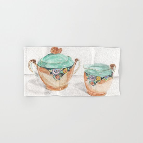 Sugar and Creamer Hand & Bath Towel