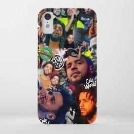 J Cole Collage iPhone Case