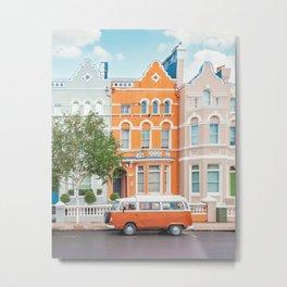 Gorgeous Notting Hill Metal Print