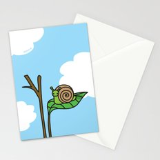 Sweet Snail Stationery Cards