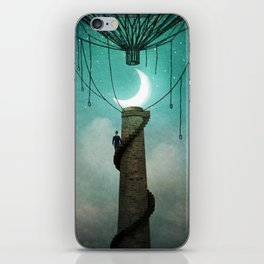 Enter the Sky iPhone Skin