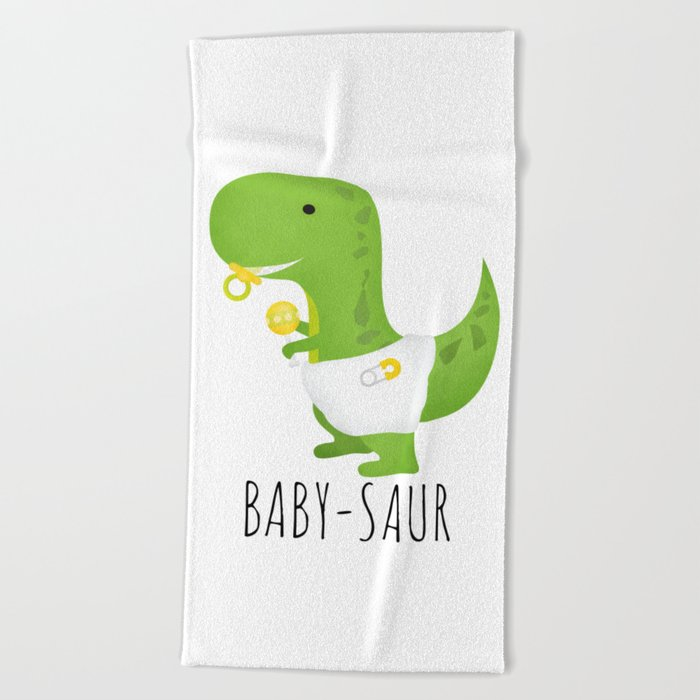 Baby-saur Beach Towel