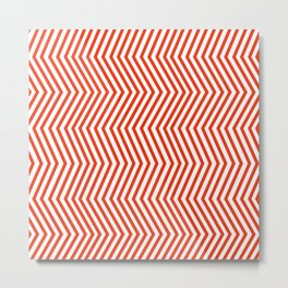 KAYA ((cherry red)) Metal Print