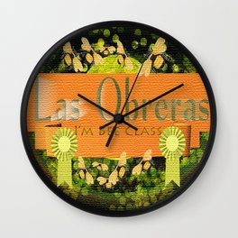 I'm Bee Class, Bee Strong, Bee Yourself Wall Clock