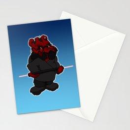 darth maul bear Stationery Cards