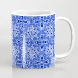 Sapphire Blue Star Flower Coffee Mug