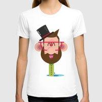 phil jones T-shirts featuring Mr. Phil by Luigi Leuce