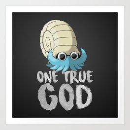 One True God Art Print