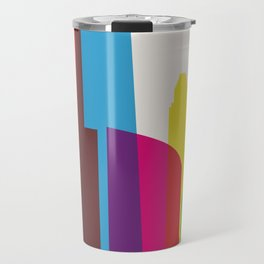 Shapes of Chicago. Accurate to scale Travel Mug