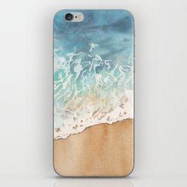 The ocean is calling iPhone Skin