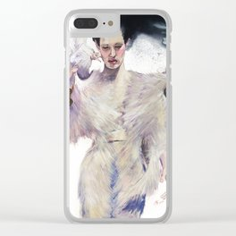 Flying out Clear iPhone Case