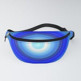 Deep Blue Swirl Fanny Pack
