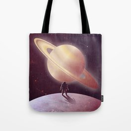 A View From Enceladus Tote Bag