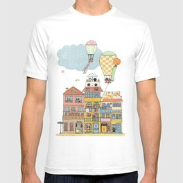 79 Cats in Harbor City T-shirt