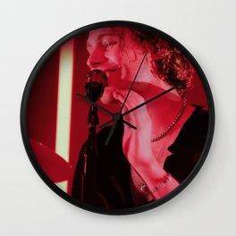 Meet Yo There Tour Red II Wall Clock