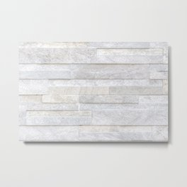 Texture of old gray concrete wall for background Metal Print