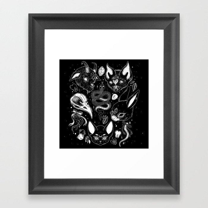 FAMILIAR SPIRITS Framed Art Print