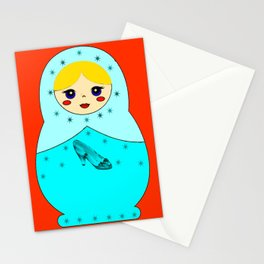 Cinderella Nesting Doll Stationery Cards