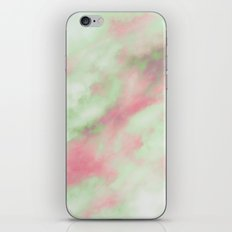Pastel Christmas iPhone & iPod Skin