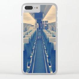 Infinite train Clear iPhone Case