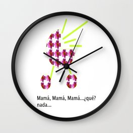 Mamá Wall Clock