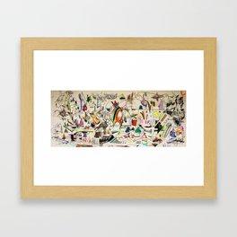 Cold Spaghetti Framed Art Print