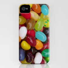 Jelly beans iPhone (4, 4s) Slim Case