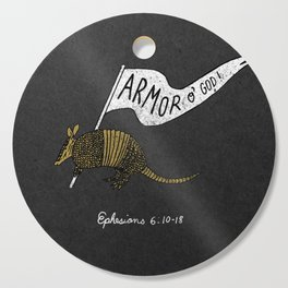 Armor Of God Cutting Board