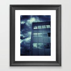 Stormy Windows Framed Art Print