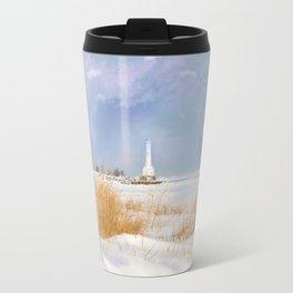 Huron Lighthouse Travel Mug