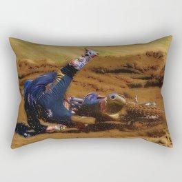 Crashing the Party - MotoX Rectangular Pillow