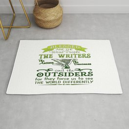Writers, Artists, Dreamers Rug