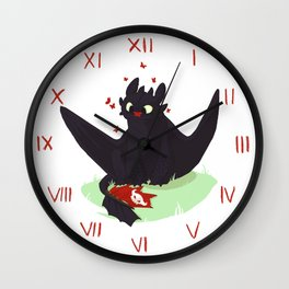Toothless Wall Clock