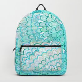 Ice Flower Mandala Backpack