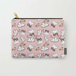 vinage lamb pattern pink Carry-All Pouch