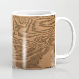 Wood Grain 5 Coffee Mug