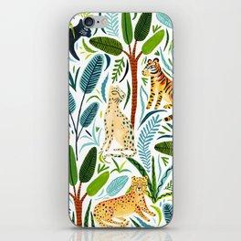 Jungle Cats iPhone Skin