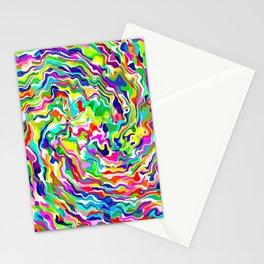 Fluid Rainbow Stationery Cards