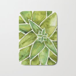 Aloe Vera – Green Palette Bath Mat