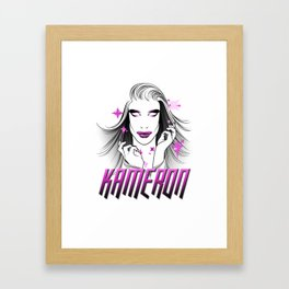 Kameron Michaels, Creator of Worlds Framed Art Print