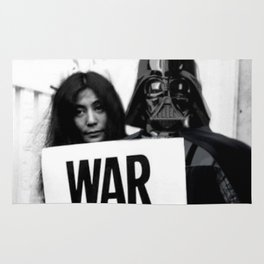 Darth Vader with Yoko Ono Rug