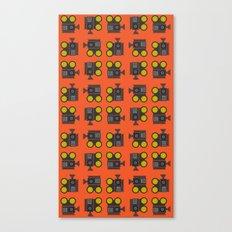 camera 01 pattern Canvas Print