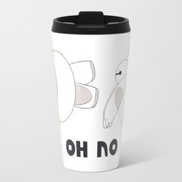 Oh No Baymax failed teleport Travel Mug