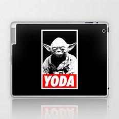 Obey Yoda (yoda text version) - Star Wars Laptop & iPad Skin