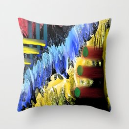 Reduced Theory Throw Pillow