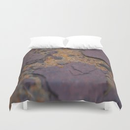 Rust on Rust rustic decor Duvet Cover
