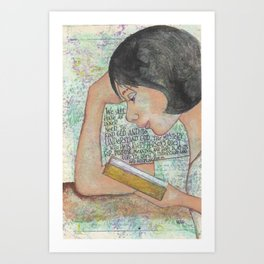 Inner Need by patsy paterno Art Print