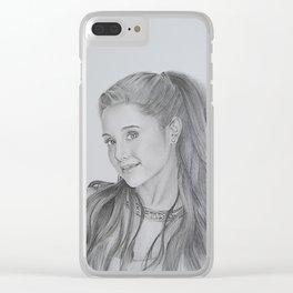 Ariana sketch Clear iPhone Case